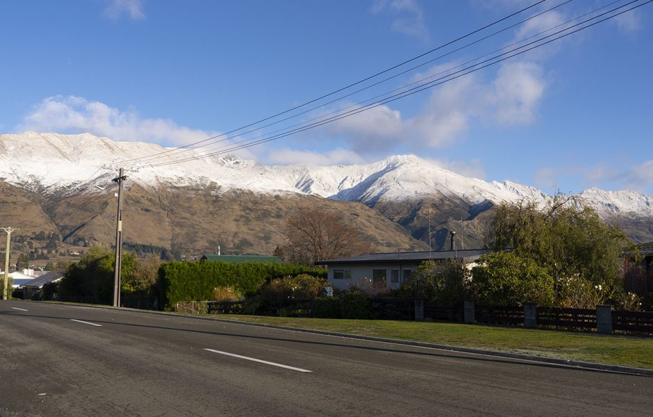The property development site in Wanaka's Old Town.
